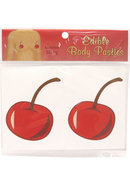Edible Body Pasties Luscious Cherry