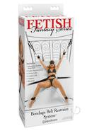 Fetish Fantasy Series Bondage Belt Restraint System Black