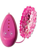Vibrating Bumpy Bullet 4 Speed Waterproof 3 Inch Pink