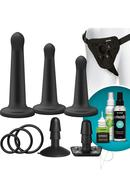 Vac U Lock Platinum Silicone Pegging Set Black Assorted...