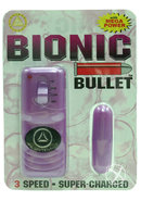 Bionic Bullet 3 Speed Super Charged With Remote