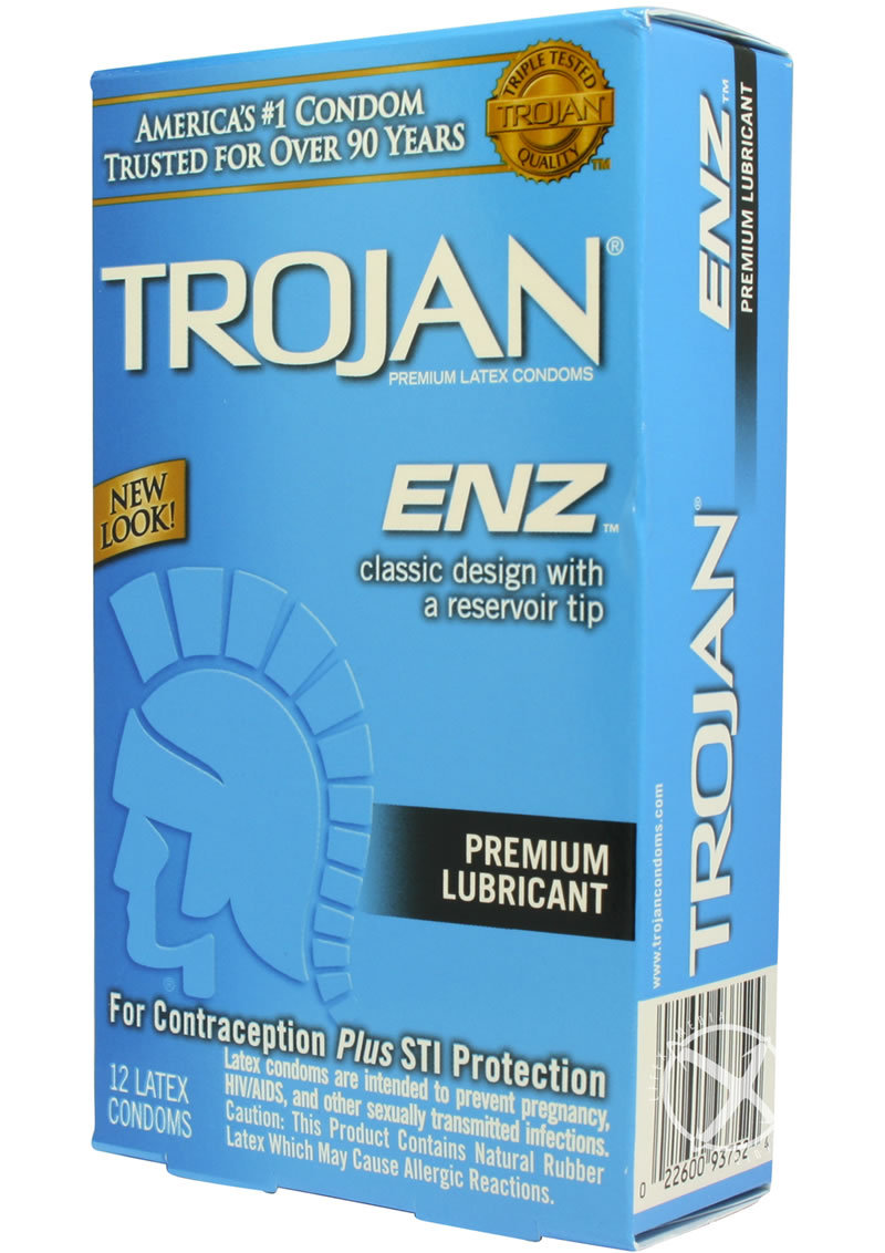 Can not trojan enz lubricated condom