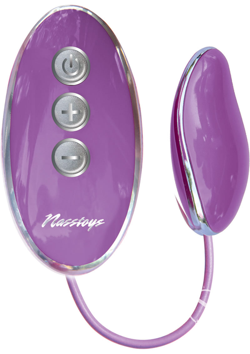 Sinful Ellipse Wired Remote Control Egg Purple
