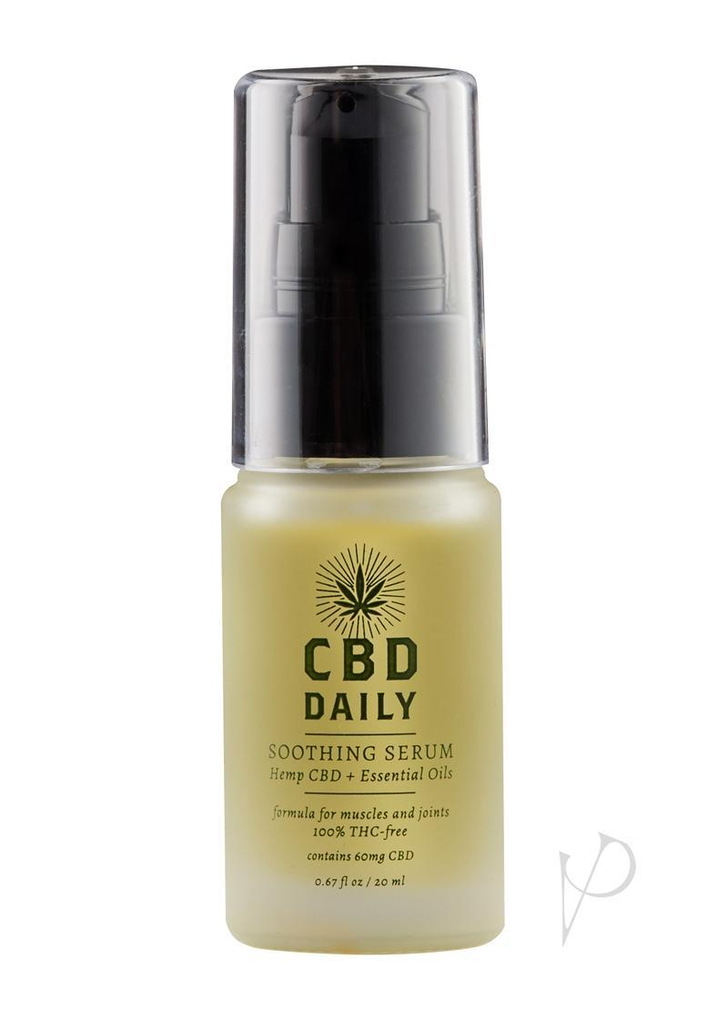 Cbd Daily Soothing Serum Hemp Cbd And Essential Oils 100 % Vegan 0.67 Ounce