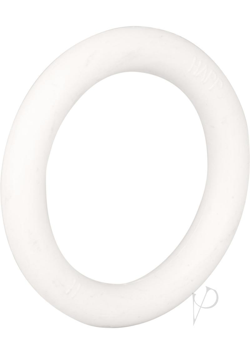 Rubber Cock Ring Small 1.25 Inch Diameter White