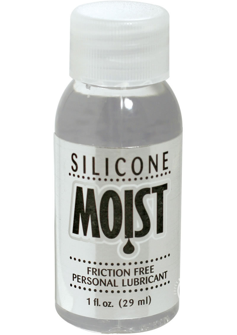 Moist Silicone Personal Lubricant 1 Ounce