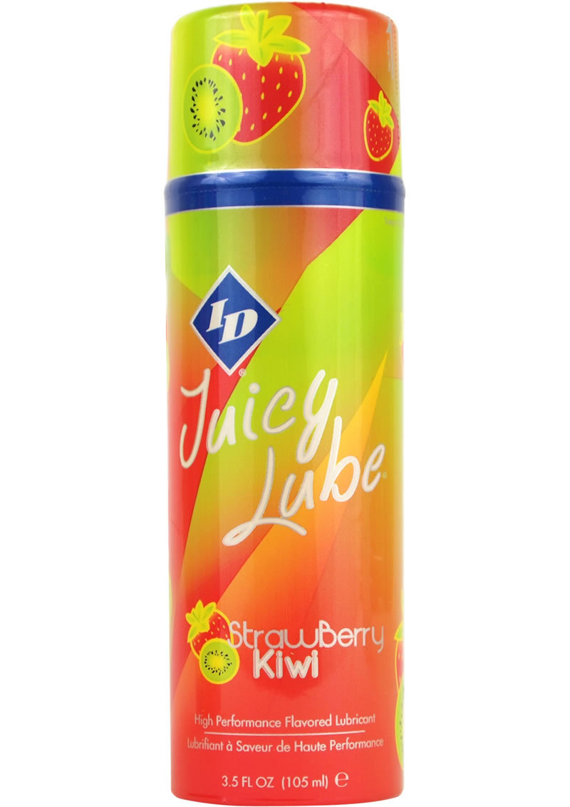 Id Juicy Lube Water Based Lubricant Strawberry Kiwi 3.5 Ounce